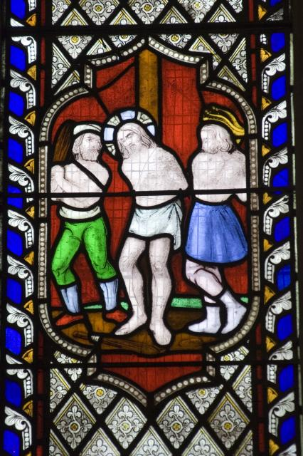 The Flagellation of Christ    from    Scenes from the Passion and Resurrection of Christ