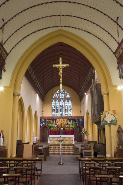 Church of St Saviour, Splott, Cardiff, Glamorgan _MG_1858.jpg Photo © Martin Crampin, Imaging the Bible in Wales
