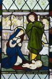The Nativity: David, St Stephen and Samuel with scenes from the Gospels.