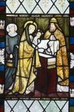 The Presentation in the Temple: David, St Stephen and Samuel with scenes from the Gospels.