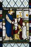 Christ Blessing the Children: David, St Stephen and Samuel with scenes from the Gospels.