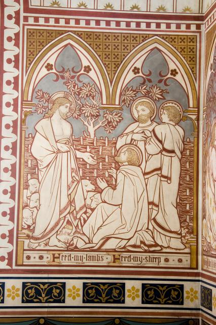 Peter's Commission    from    Scenes from the Gospels
