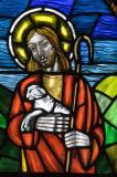 Detail of Christ: Christ the Good Shepherd