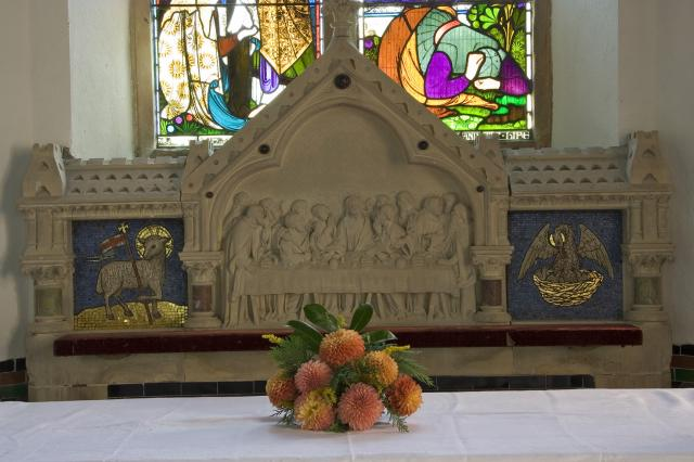 The Last Supper with the Agnus Dei and the Pelican in her Piety
