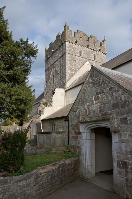 Priory Church of St Michael, Ewenny, Vale of Glamorgan Ewenny_DSC2776.jpg Photo © Martin Crampin