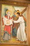 Veronica Wipes Jesus' Face with her Veil    from    Stations of the Cross