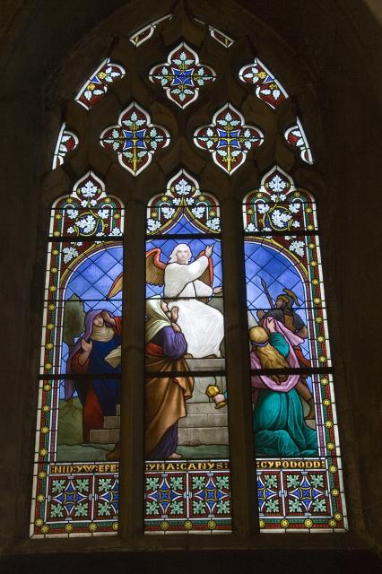An Angel Greets the Three Women at the Empty Tomb
