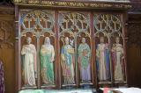 St David, St Illtud and the Four Evangelists