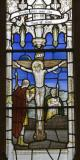 Crucified Christ with Roman Soldiers: Christ in Majesty with Scenes from the Gospels
