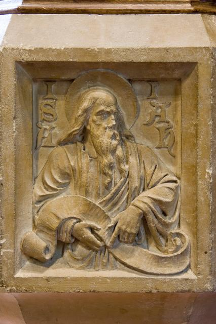 Isaiah    detail from    Old Testament Prophets