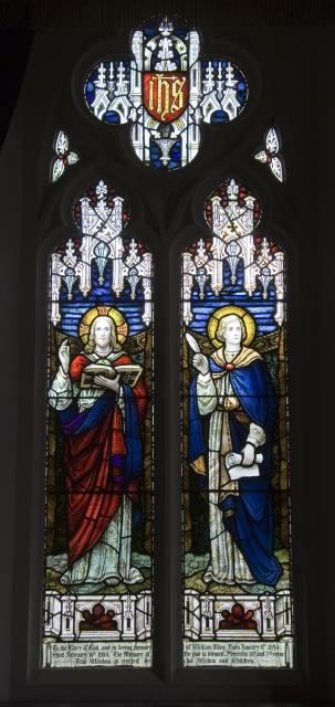 Christ Reading the Scriptures and St John