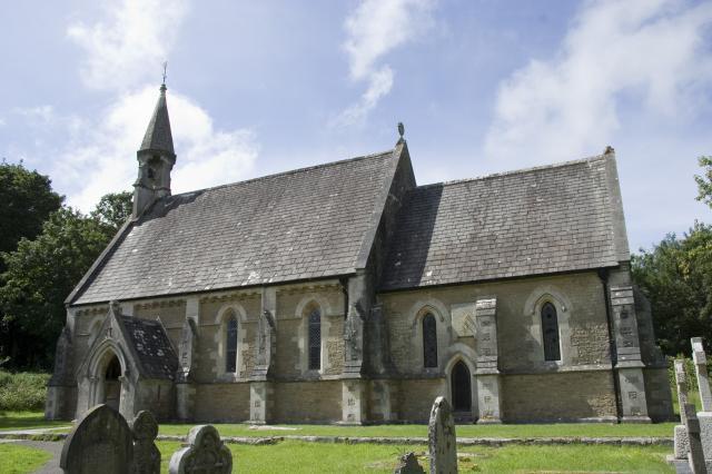 Church of St Teilo, Merthyr Mawr, Bridgend _MG_7036.jpg Photo © Martin Crampin, Imaging the Bible in Wales