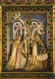 The Annunciation: Christ in Majesty with Welsh Saints
