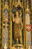 St John the Baptist: Christ in Majesty with Welsh Saints