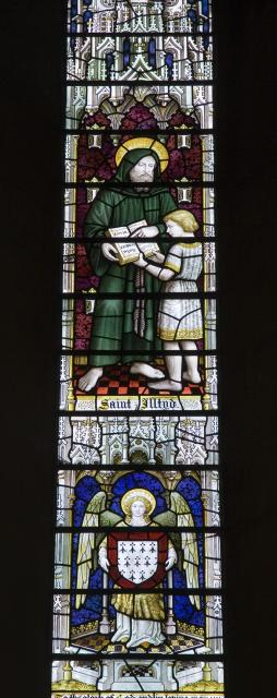 St Illtud    from    Christ in Majesty With Welsh Saints