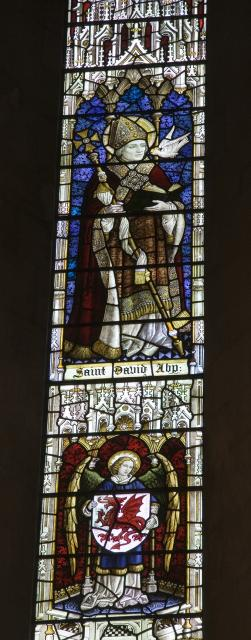 St David    from    Christ in Majesty With Welsh Saints