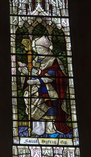 St Dyfrig    from    Christ in Majesty With Welsh Saints