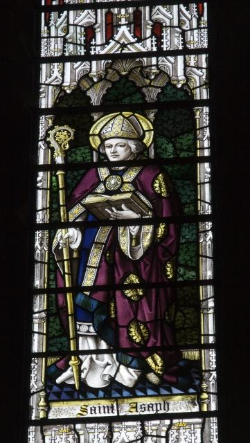 St Asaph    detail from    Christ in Majesty With Welsh Saints