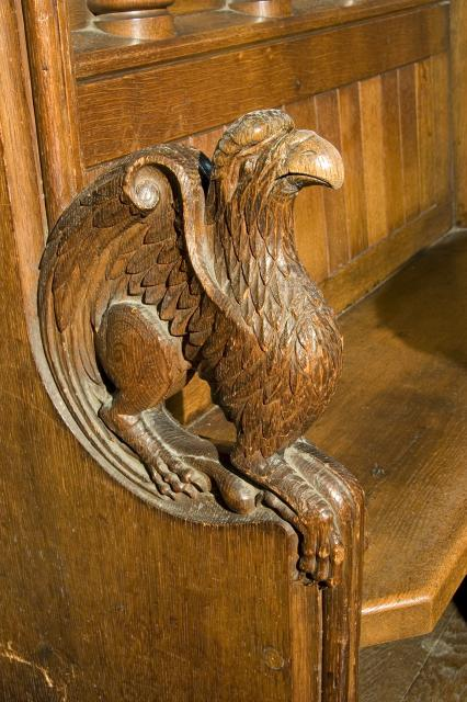 Eagle, Symbol of St John    from    Symbols of the Four Evangelists