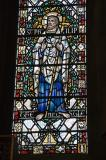 St Philip the Apostle: Ascension with St Anne, St Agnes, St Edward the Confessor and St Philip