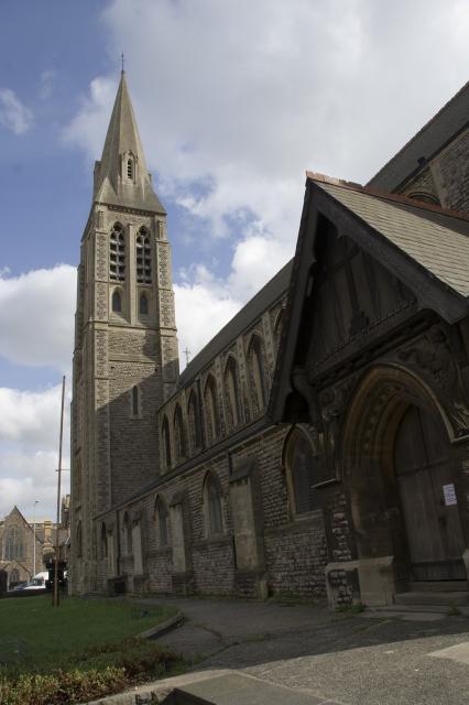 Church of St James, Cardiff _MG_3949.jpg Photo © Martin Crampin, Imaging the Bible in Wales