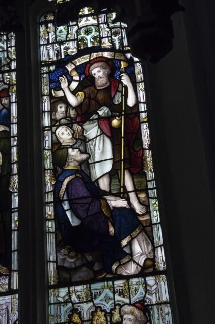 St John the Baptist Preaching    detail from    Scenes from the Life of St John the Baptist