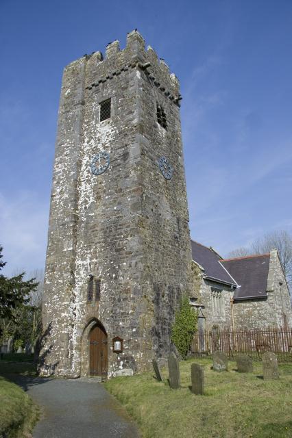 Robeston Wathen Church, Robeston Wathen, Pembrokeshire _MG_4204.jpg Photo © Martin Crampin, Imaging the Bible in Wales