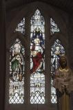 The Sacred Heart of Christ with St Patrick and St Peter