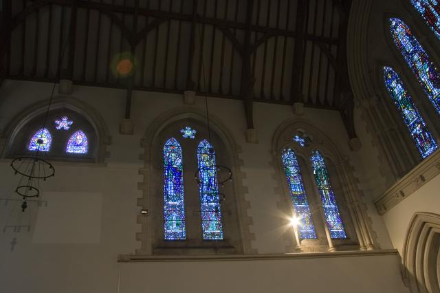 Windows in the North and East of the Chancel    from    Figures from the Old and New Testaments