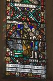 Henry of Gower Founding a Hospital: St Barnabas and St James with Local Scenes