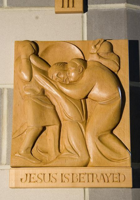 Jesus is Betrayed    from    Stations of the Cross