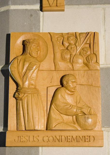 Jesus Condemned    from    Stations of the Cross