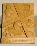 Jesus Falls    from    Stations of the Cross