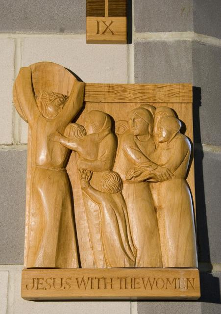 Jesus with the Women    from    Stations of the Cross