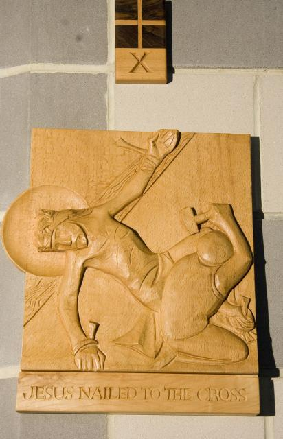 Jesus Nailed to the Cross    from    Stations of the Cross