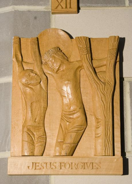 Jesus Forgives    from    Stations of the Cross