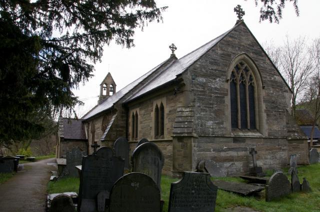 Church of St Ffraid, Carrog, Denbighshire Carrog_DSC9309A.jpg Photo © Martin Crampin