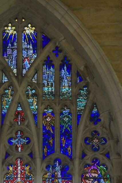 The Heavenly Jerusalem    detail from    Te Deum