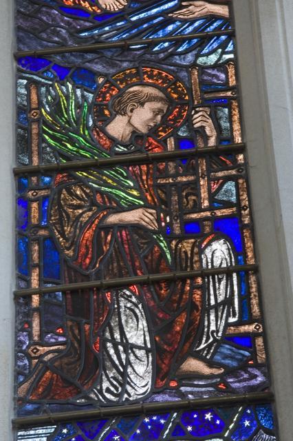 Kneeling Martyr    detail from    Te Deum