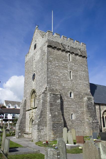 Church of St John the Baptist, Newton, Swansea _MG_8015.jpg Photo © Martin Crampin, Imaging the Bible in Wales