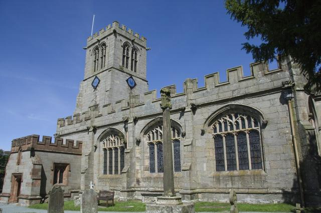 Church of St Chad, Hanmer, Wrexham _MG_7172.jpg Photo © Martin Crampin, Imaging the Bible in Wales