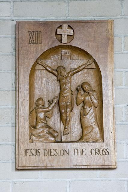 Jesus Dies on the Cross    from    Stations of the Cross