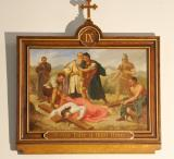 Jesus falls a third time    from    Stations of the Cross
