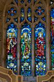 St Peter, St Paul, St Asaph and St John the Apostle: The Risen Christ with the Virgin Mary, St John the Baptist and Saints