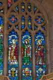 St David, St Deiniol and St Gwynllyw: The Risen Christ with the Virgin Mary, St John the Baptist and Saints