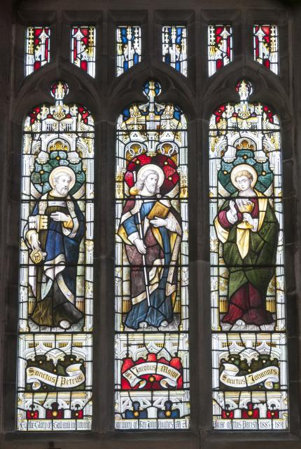 St Peter, St James the Great and St John