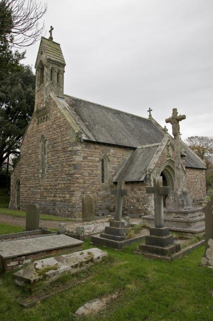 Church of St Nicholas, Nicholaston, Swansea Nicholaston_DSC3239.jpg © University of Wales Centre for Advanced Welsh and Celtic Studies, photo Martin Crampin