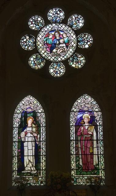 Virgin and Child with St Cecilia and St Margaret