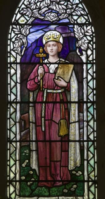 St Margaret    from    Virgin and Child with St Cecilia and St Margaret