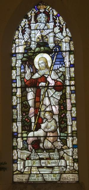 Christ the Good Shepherd    from    Christ with a Child and Christ the Good Shepherd